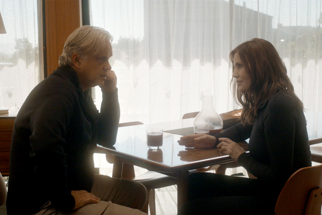 Marjorie Prime review - Tim Robbins and Geena Davis