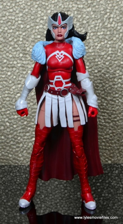 Marvel Legends A-Force Lady Sif figure review -front