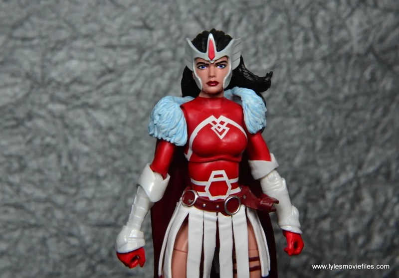 Marvel Legends A-Force Lady Sif figure review -wide likeness