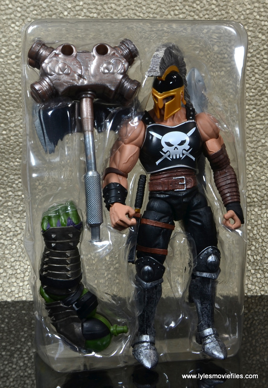 Marvel Legends Ares figure review -in tray