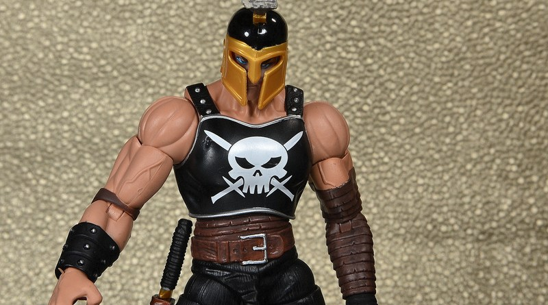 Marvel Legends Ares figure review -wide