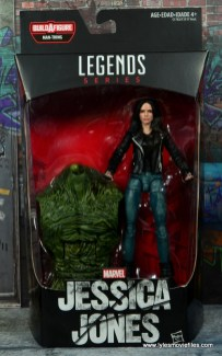 Marvel Legends Jessica Jones figure review - front package