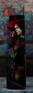 Marvel Legends Jessica Jones figure review - package side