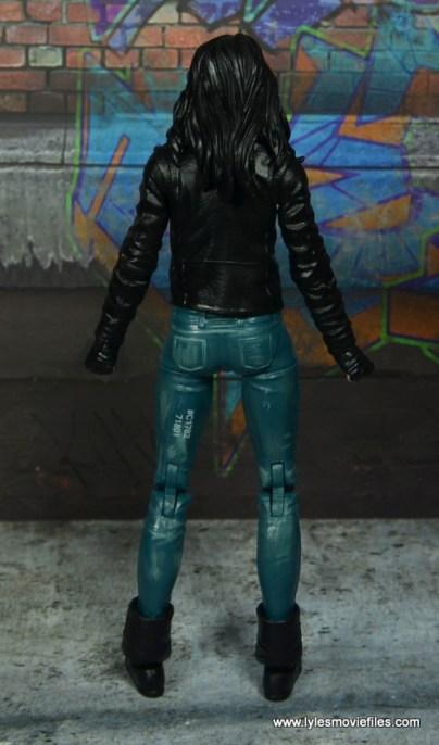 Marvel Legends Jessica Jones figure review - rear