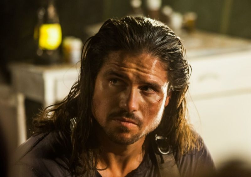 Never Leave Alive movie review -John Hennigan as Rick Rainsford