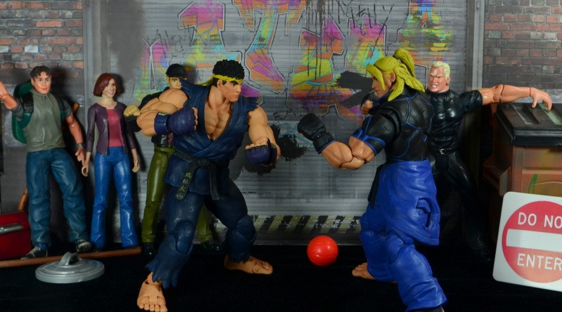 Storm Collectibles Street Fighter V Ryu figure review - face off with Ken