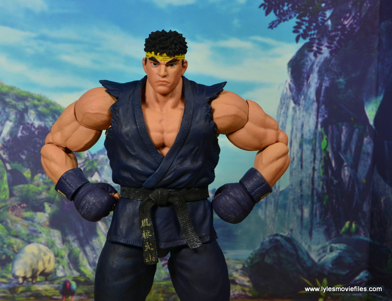 Storm Collectibles Street Fighter V Ryu figure review - hands on hips