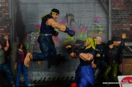 Storm Collectibles Street Fighter V Ryu figure review - medium high punch in air