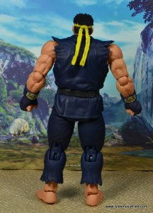 Storm Collectibles Street Fighter V Ryu figure review - rear