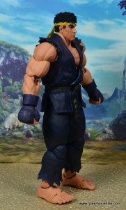 Storm Collectibles Street Fighter V Ryu figure review - right side