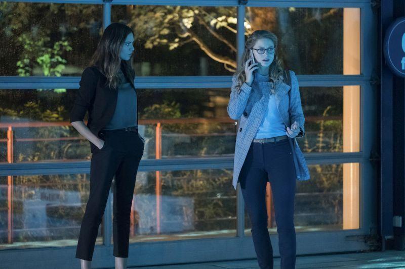 Supergirl Damage - Sam and Kara