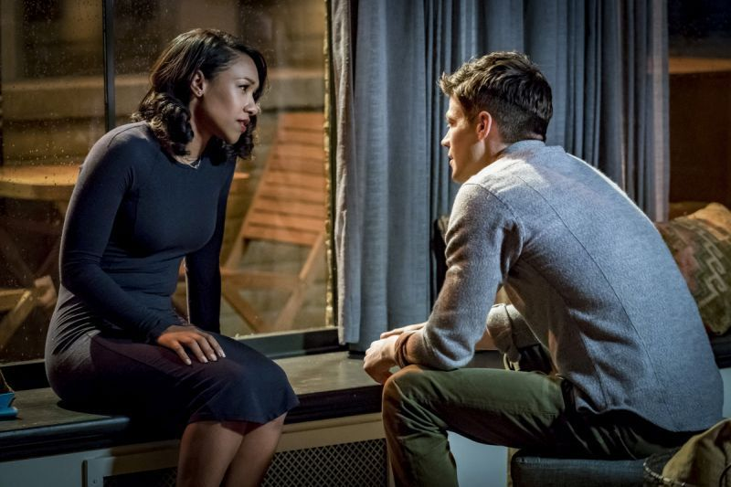 The Flash Therefore I Am review - Iris and Barry