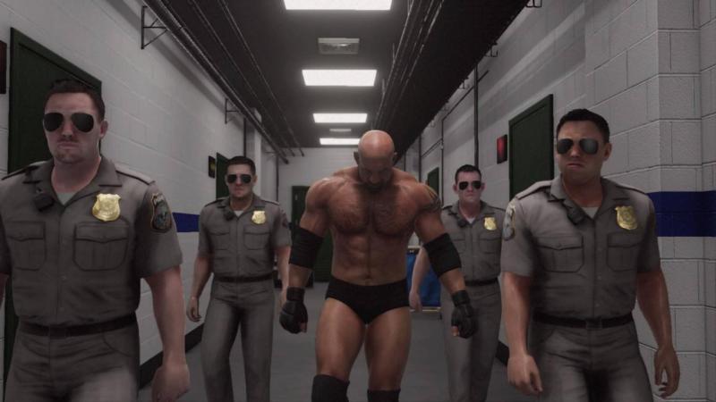 WWE 2K18 Goldberg