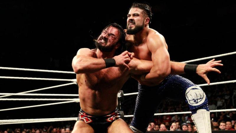 WWE NXT TakeOver War Games - Drew McIntyre vs Andrade Cien Almas