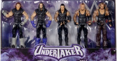 WWE Network Spotlight Action Figure Set - History of The Undertaker - in package