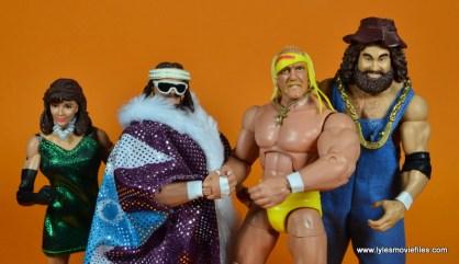 WWE Survivor Series Teams - 1988 Miss Elizabeth, Macho Man, Hulk Hogan and Hillbilly Jim
