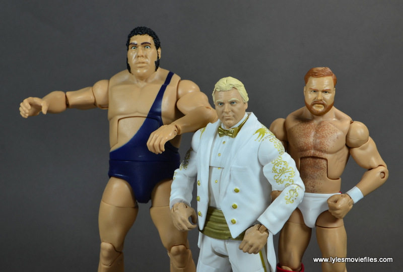 WWE Survivor Series Teams - 1989 Andre the Giant, Bobby Heenan and Arn Anderson