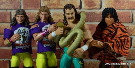 WWE Survivor Series Teams - 1990 The Rockers, Jake the Snake and Jimmy Snuka
