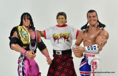 WWE Survivor Series Teams - 1991 Bret Hart, Rowdy Roddy Piper and The British Bulldog