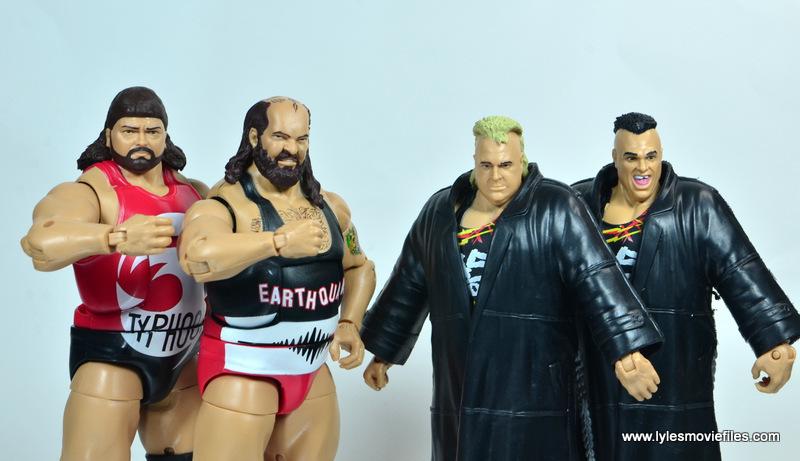 WWE Survivor Series Teams - 1992 Natural Disasters and Nasty Boys