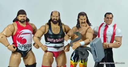 WWE Survivor Series Teams - 1991 The Natural Disasters, Jake the Snake and IRS