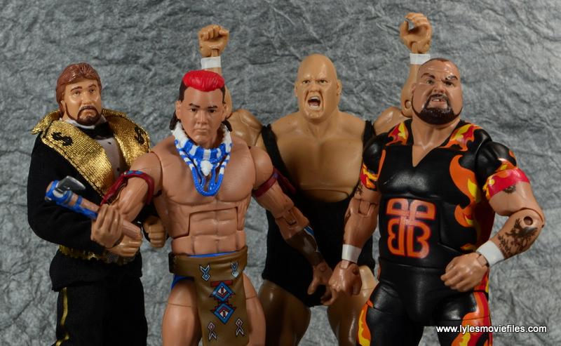 WWE Survivor Series Teams - 1994 Ted DiBiase, Tatanka, King Kong Bundy and Bam Bam Bigelow
