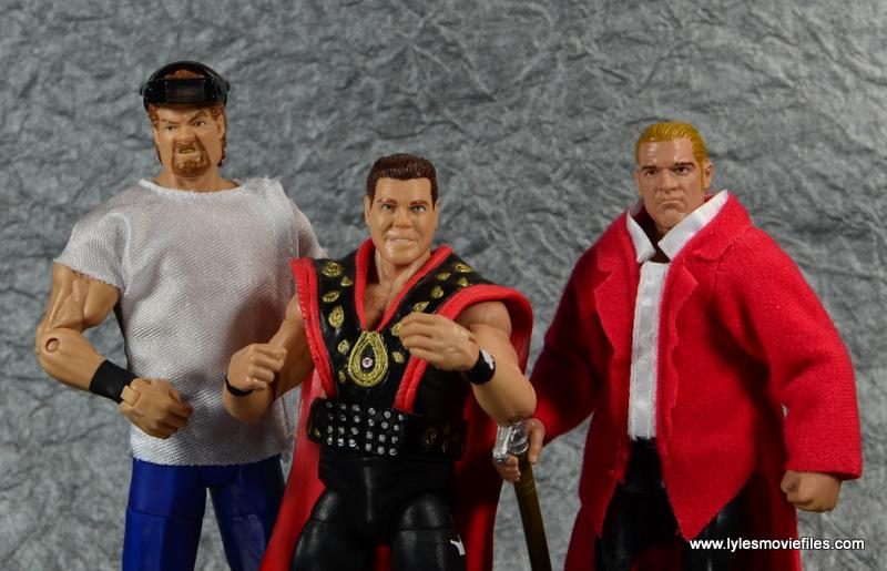 WWE Survivor Series Teams - 1995 Isaac Yankem, Jerry Lawler and Hunter Hearst Helmsley