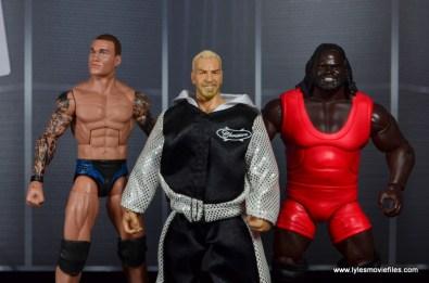 WWE Survivor Series Teams -2003 Team Bischoff Randy Orton, Christian and Mark Henry