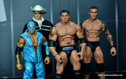 WWE Survivor Series Teams -2005 Team Smackdown Rey Mysterio, JBL, Batista and Randy Orton