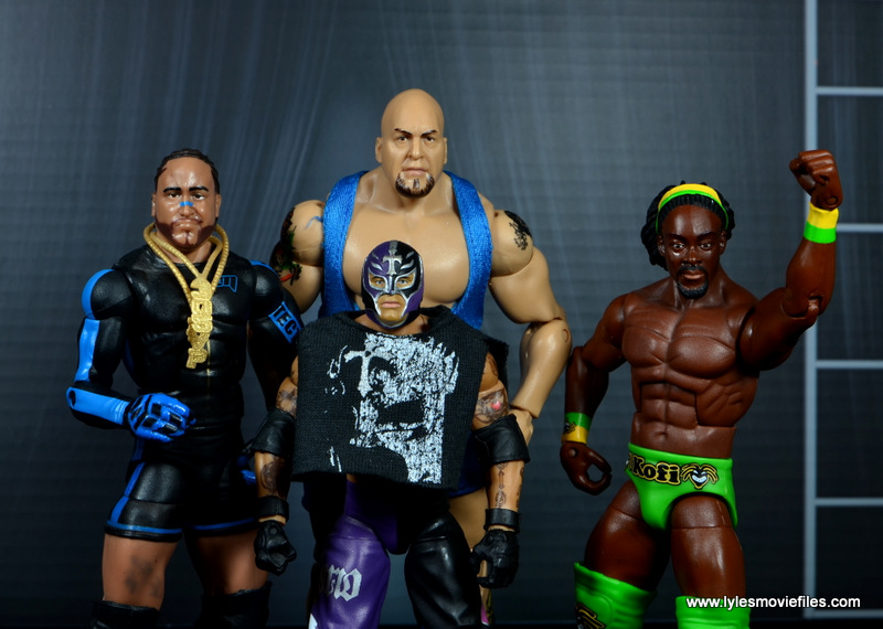 WWE Survivor Series Teams -2010 Team Mysterio - MVP, Big Show, Rey Mysterio and Kofi Kingston