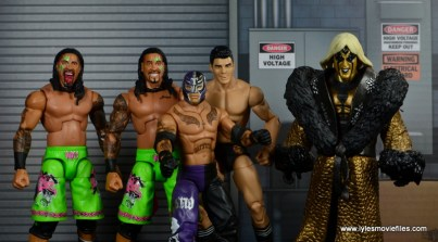 WWE Survivor Series Teams -2013 The Usos, Rey Mysterio, Cody Rhodes and Goldust