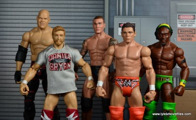 WWE Survivor Series Teams -Team Foley Kane, Daniel Bryan, Randy Orton, The Miz and Kofi Kingston