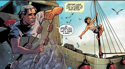 Wonder Woman #35 interior art