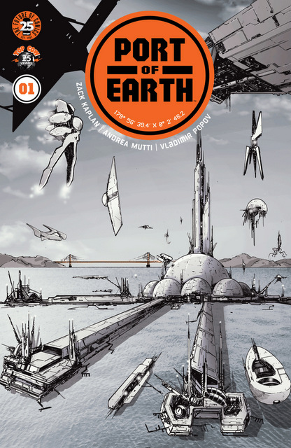 port of earth #1 cover