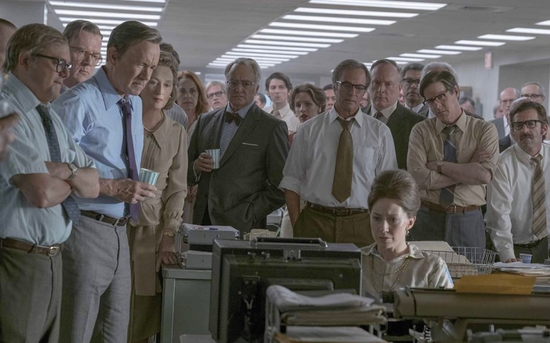 The Post movie review -The newsroom