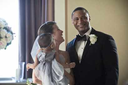 Arrow - Lyla and Diggle