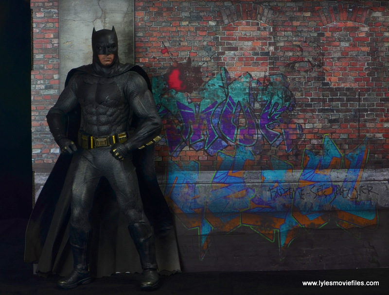 Extreme-Sets Building 2 Pop-Up review right side wall Hot Toys Batman