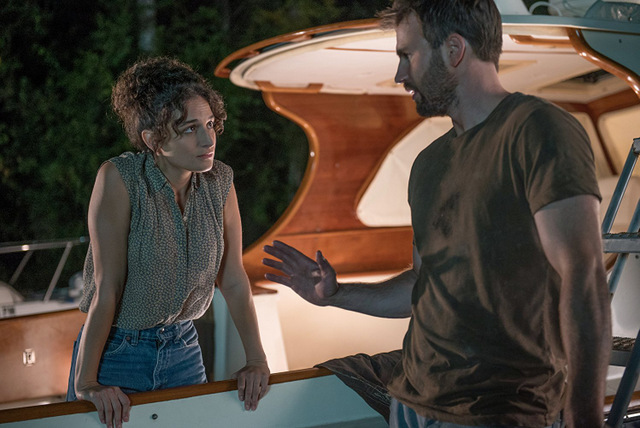 Gifted movie review -Jenny Slate and Chris Evans