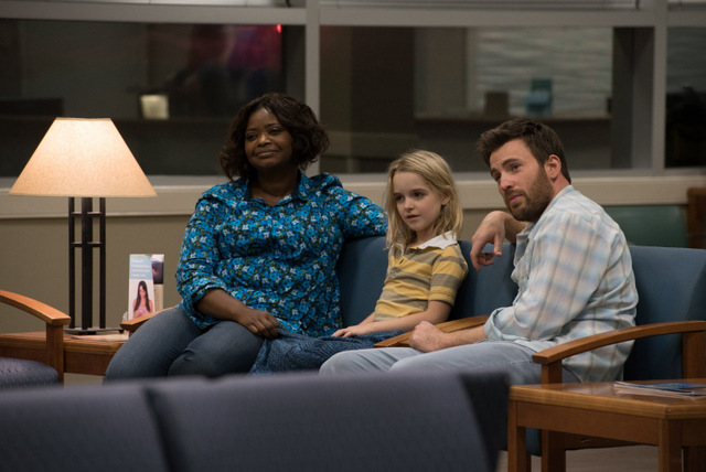 Gifted movie review - Octavia Spencer, McKenna Grace and Chris Evans