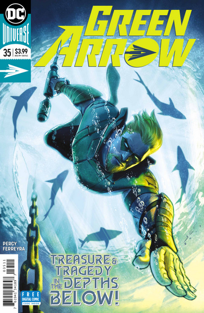 Green Arrow #35 cover