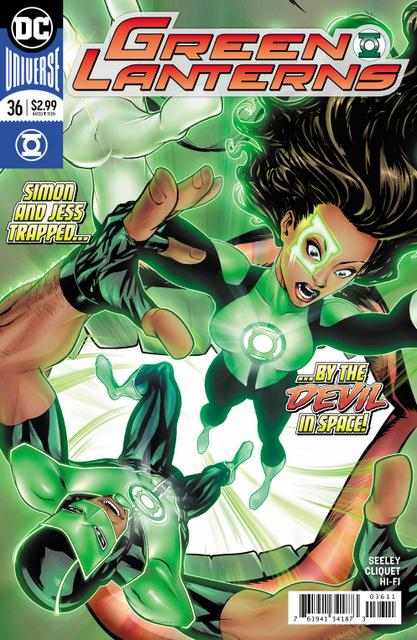 Green Lanterns #36 cover