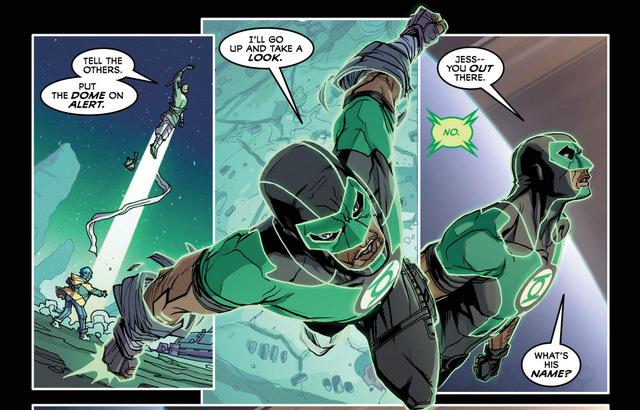 Justice League #34 interior art