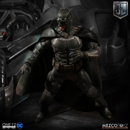 Mezco One12 Collective Justice League Movie Tactical Suit Batman figure wide shot