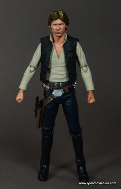 SH Figuarts Han Solo figure review -front