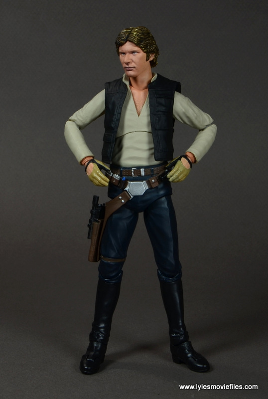 SH Figuarts Han Solo figure review -hands on hips