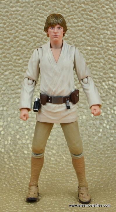 SH Figuarts Luke Skywalker figure review -front