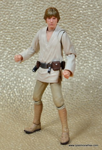 SH Figuarts Luke Skywalker figure review -hands out