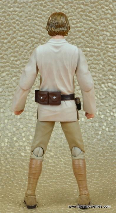 SH Figuarts Luke Skywalker figure review -rear