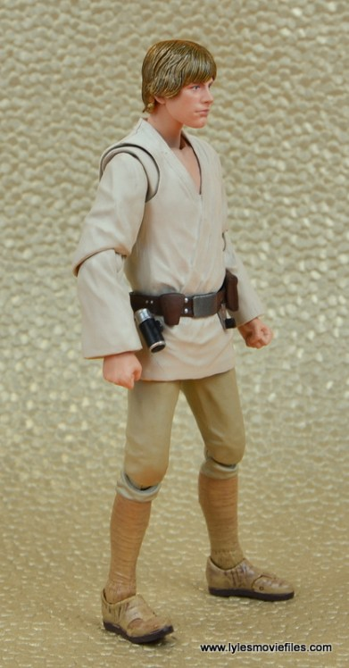 SH Figuarts Luke Skywalker figure review - right side