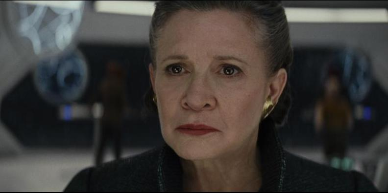 Star Wars The Last Jedi review -General leia